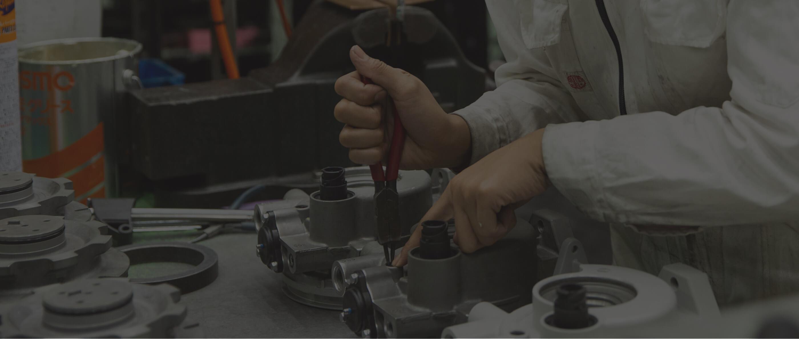 国内最大規模のエンジン修理